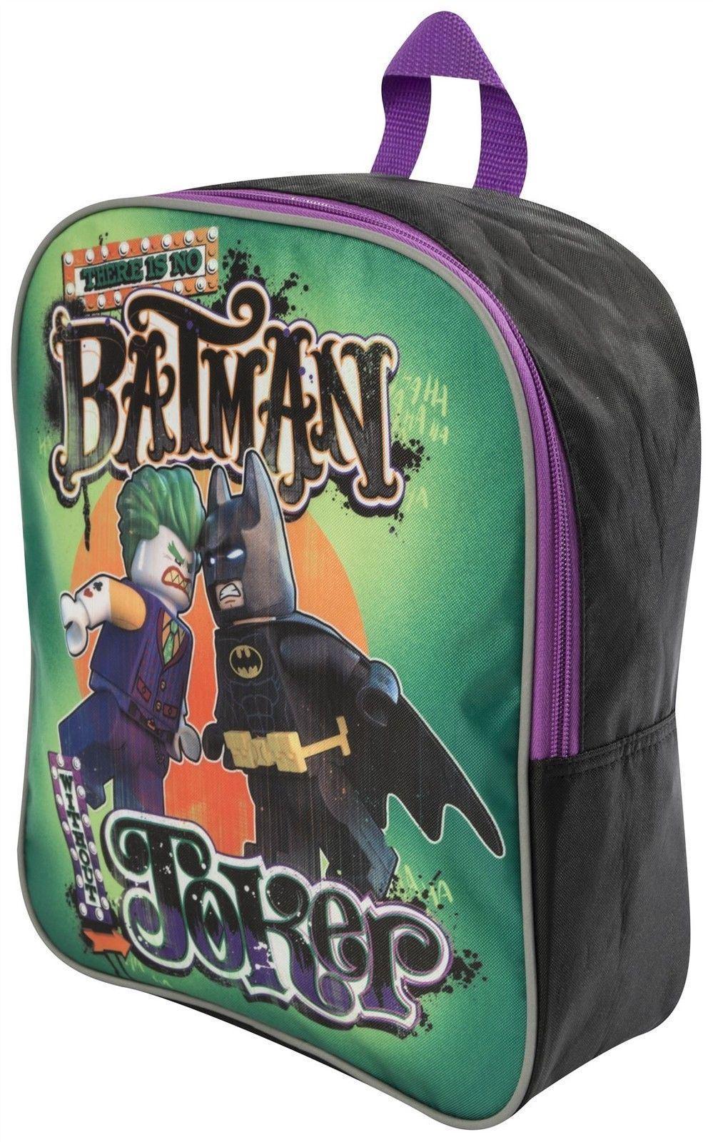 a05834d46ec2 Official Lego Batman and Joker Childrens Kids Backpack School ...